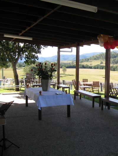 Winya Wines Cellar Door Outdoor Functions