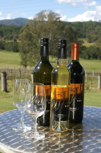 Winya Wines Bottles