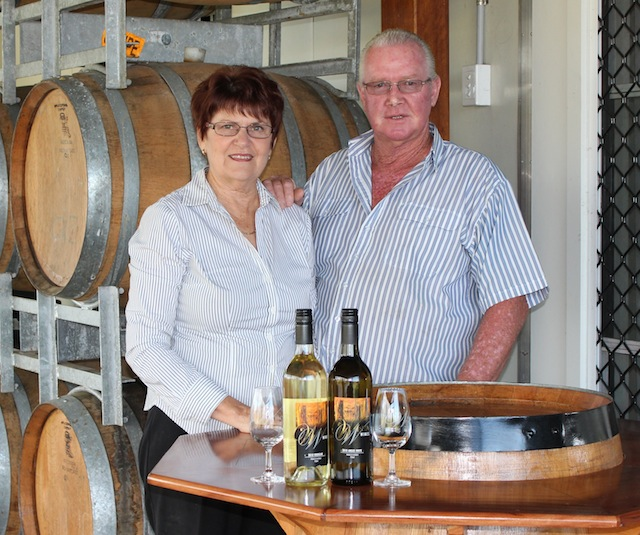Winya Wines Owners - Sue and Snow Pratten