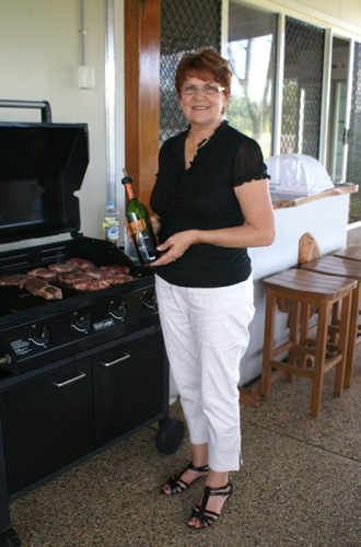 Winya Wines BBQ with Owner Susie Pratten